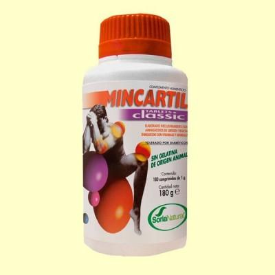 Mincartil Classic - Articulaciones - 180 comprimidos - Soria Natural