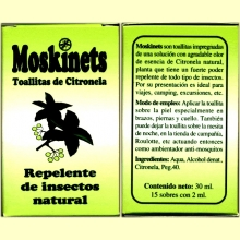 Moskinets Toallitas de Citronela