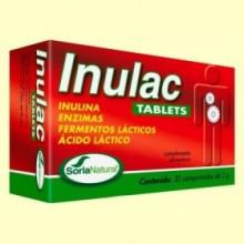 Inulac Tablets - Digestión - 30 comprimidos - Soria Natural