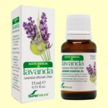 Aceite Esencial de Lavanda - 15 ml - Soria Natural