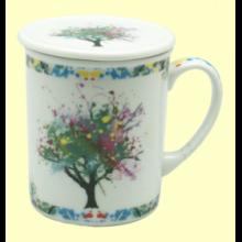 Taza Infusora Tisanera de Porcelana Griffin - 250 ml - Cha Cult