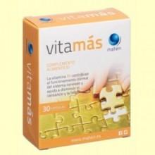 Vitamas - Tónico y Energético - 30 cápsulas - Mahen