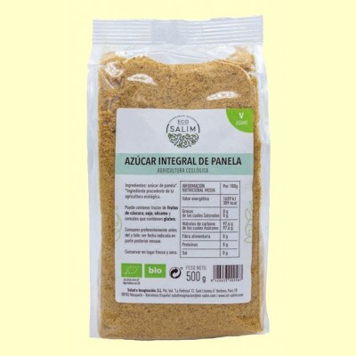 Azúcar Integral de Panela Bio - 500 gramos - Eco Salim