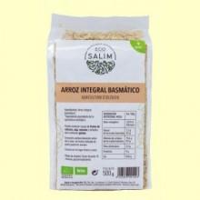 Arroz Integral Basmático - Eco- 500 gramos -Salim