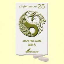 Chinasor 25 - JIAN FEI WAN - 30 comprimidos - Soria Natural