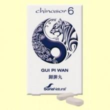 Chinasor 6 - GUI PI WAN - 30 comprimidos - Soria Natural