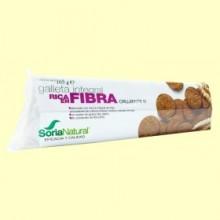 Galletas Integrales Ricas en Fibra - 165 gramos - Soria Natural