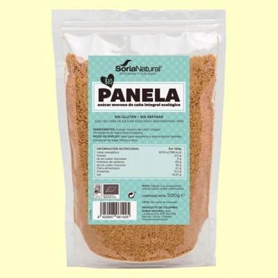 Panela Bio - Azúcar de Caña sin Refinar - 500 gramos - Soria Natural