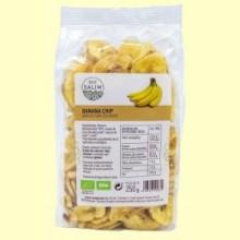 Banana Chips Deshidratada Ecológica - Eco- 250 gramos -Salim