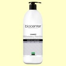 Champú de Coco Lino y Jojoba Bio - Hidratante - 1 litro - Biocenter