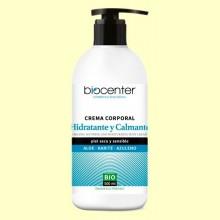 Crema Corporal Bio - Hidratante y Calmante - 500 ml - Biocenter