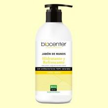 Jabón de Manos de Limón y Menta Bio - Hidratante y Refrescante - 500 ml - Biocenter