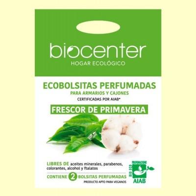 Bolsitas Perfumadas de Armario Bio - Frescor de Primavera - 2 bolsitas - Biocenter