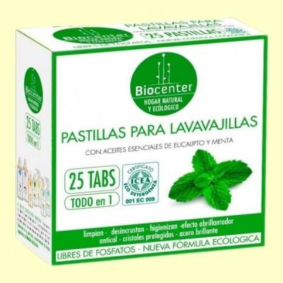Pastillas de Lavavajillas Bio - 25 pastillas - Biocenter