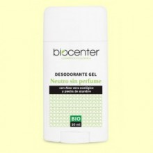 Desodorante Neutro en Gel Bio - 50 ml - Biocenter