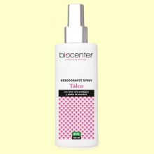 Desodorante Talco en Spray Bio - 100 ml - Biocenter