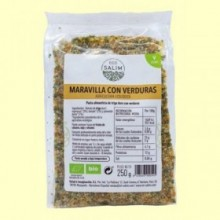 Pasta Maravilla con Verduras Ecológica - Eco- 250 gramos -Salim