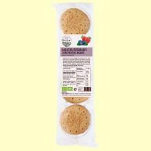 Galletas Integrales de Frutos Rojos Ecológicas - Eco- 200 gramos -Salim