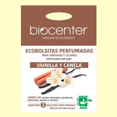Bolsitas Perfumadas de Armario Bio - Vainilla y Canela - 2 bolsitas - Biocenter
