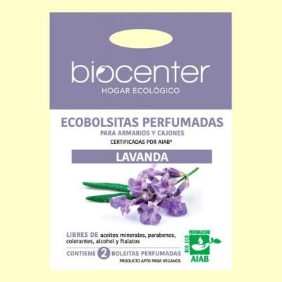 Bolsitas Perfumadas de Armario Bio - Lavanda - 2 bolsitas - Biocenter