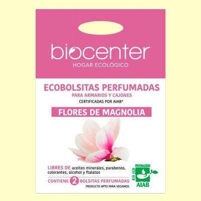 Bolsitas Perfumadas de Armario Bio - Flores de Magnolia - 2 bolsitas - Biocenter