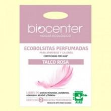 Bolsitas Perfumadas de Armario Bio - Talco Rosa - 2 bolsitas - Biocenter