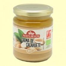 Crema de Cacahuete Bio - 250 gramos - Natursoy