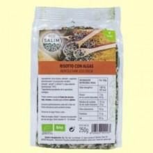 Risotto con Algas Bio - Eco- 250 gramos -Salim