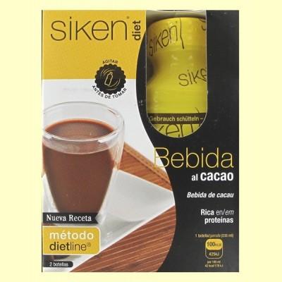 Bebida al Cacao - 2 unidades de 235 ml - Siken Diet
