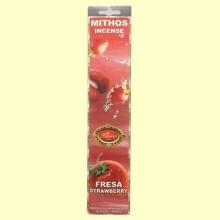 Incienso Mithos Fresa - 16 barras - Flaires