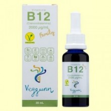 Vitamina B12 Family - 30 ml - Veggunn