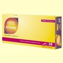Labcatal 16 - Potasio - 28 ampollas - Oligoelementos