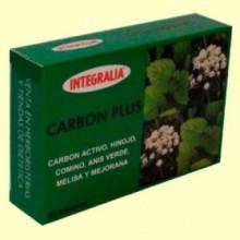 Carbón Plus - Bienestar Digestivo - 60 cápsulas - Integralia