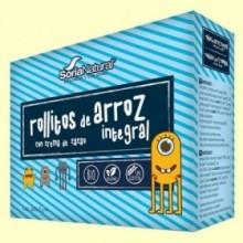 Rollitos Arroz Integral Crema Cacao Bio - 4 packs - Soria Natural