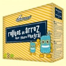 Rollitos Arroz Integral Plátano Bio - 4 packs - Soria Natural