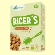 Ricers - Cereales de Miel de Caña - 375 gramos - Soria Natural