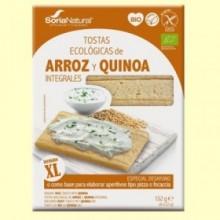 Tostadas Arroz y Quinoa Integral Bio - 132 gramos - Soria Natural