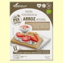 Tostadas Arroz Integral Bio - 132 gramos - Soria Natural