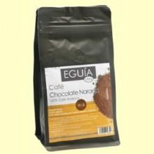 Café Molido 100% Arábica Chocolate Naranja - 250 gramos - Eguía