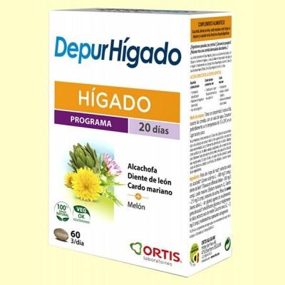Depur Hígado - 60 comprimidos - Laboratorios Ortis