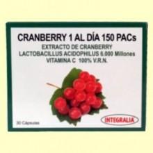 Cranberry 1 al Día 150 PACs - 30 cápsulas - Integralia