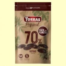 Gotas Chocolate Negro 70% Cacao - 1 kg - Torras