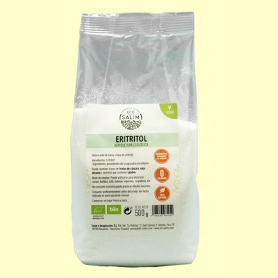 Eritritol Bio - 500 gramos - Eco Salim