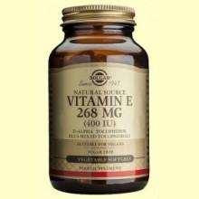 Vitamina E 268 mg - 100 cápsulas vegetales - Solgar