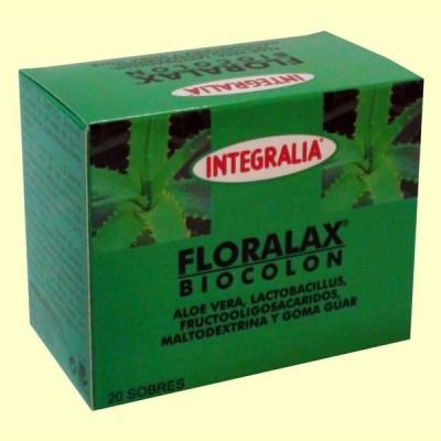 Floralax Biocolon - Tránsito Intestinal - 20 sobres - Integralia