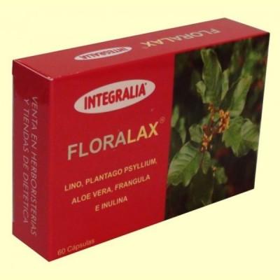 Floralax - Tránsito Intestinal - 60 cápsulas - Integralia