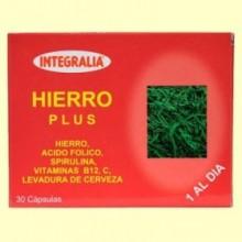 Hierro Plus - 30 cápsulas - Integralia