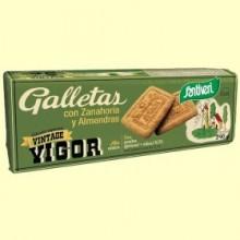 Galletas con Zanahoria y Almendras - 240 gramos - Santiveri