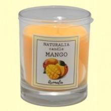 Vela Aromática de Mango en Vaso de Cristal - 1 unidad - Aromalia