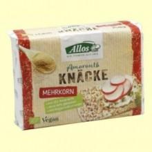 Pan crujiente Amaranto y Mezcla de Cereales - 250 gramos - Allos